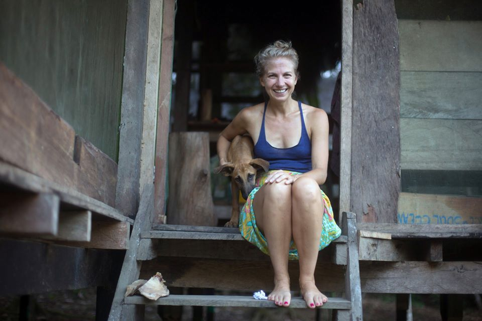 Kim participant of ayahuasca retreat and master plan dieta at psychonauta foundation