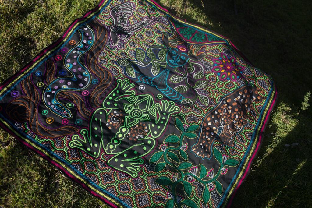shipibo manta icaros art handcrafts