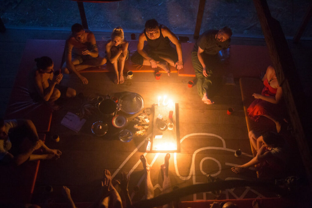 talking circle ayahuasca retreat peru