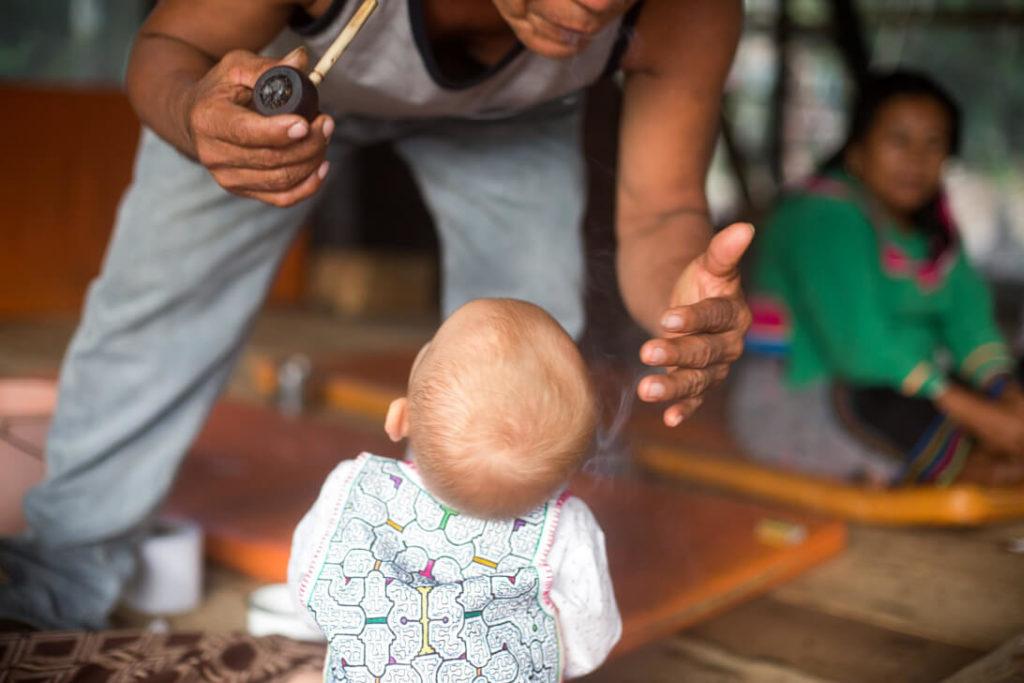 ayahuasca retreat peru child