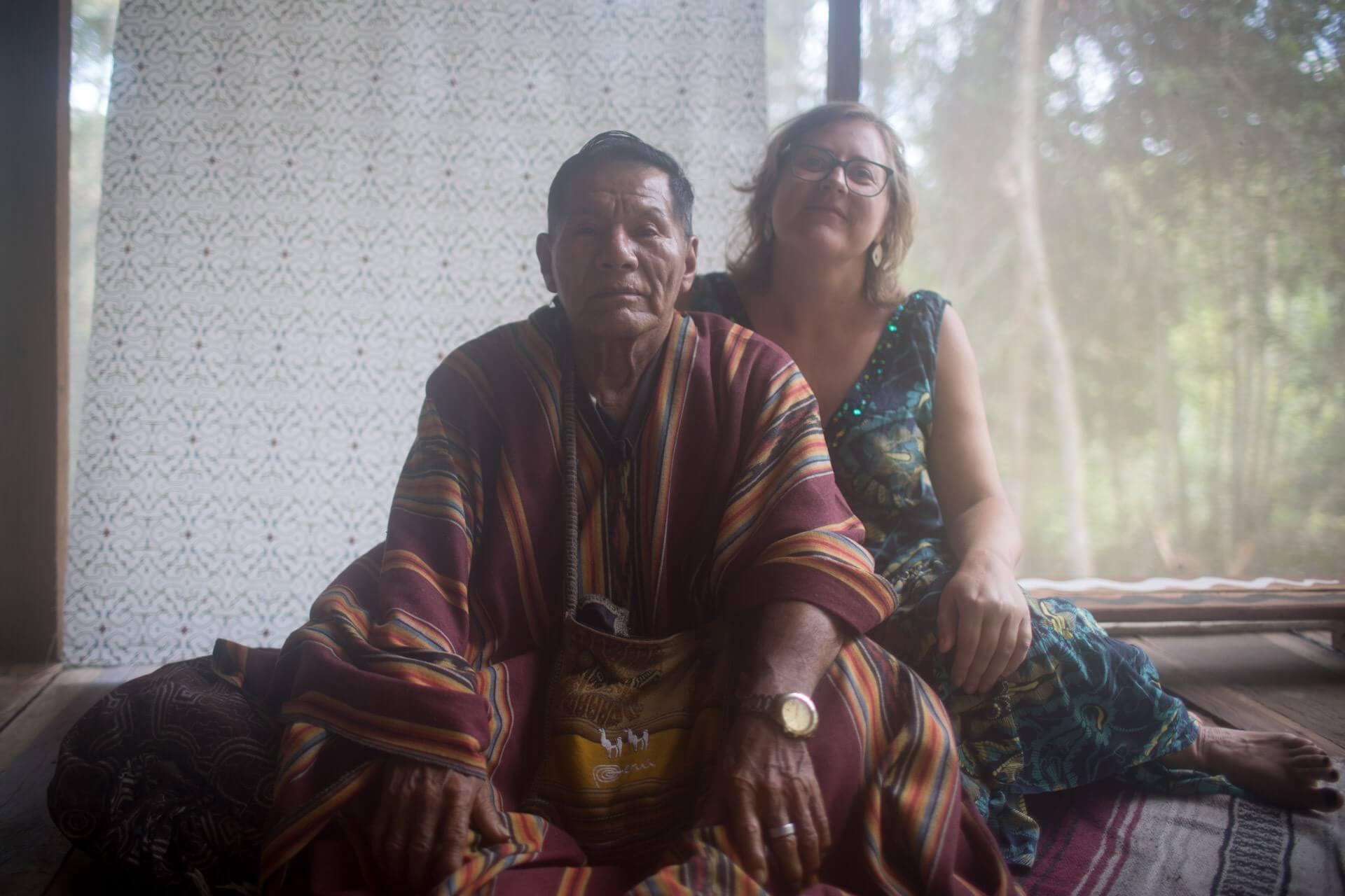 participant and shaman shipibo dieta