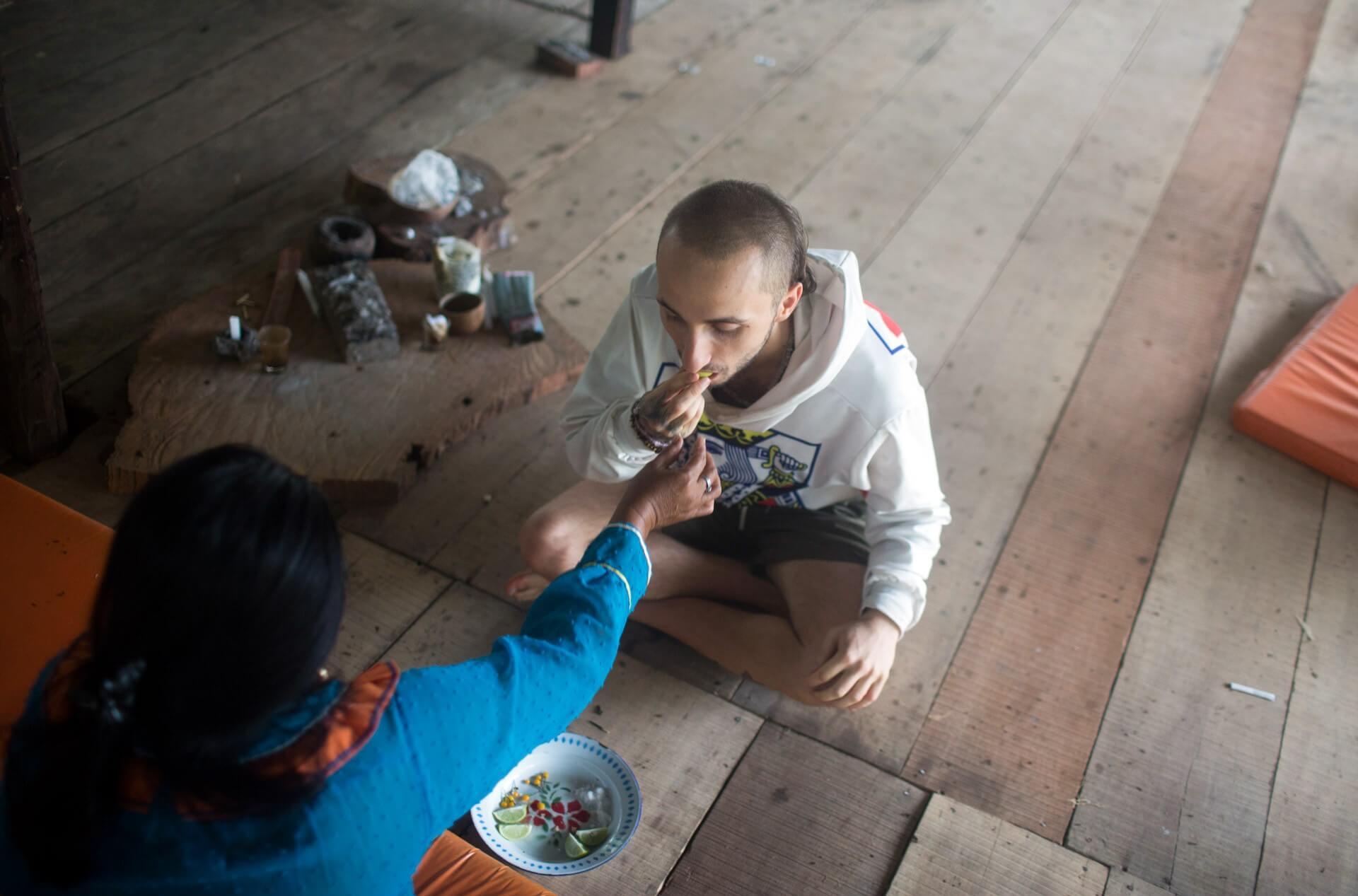 shipibo dieta in peru participant matthew