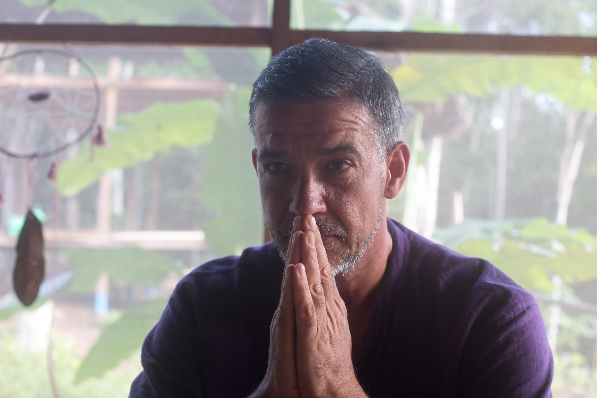 nik from germany participant at ayahuasca retreat in psychonauta foundation